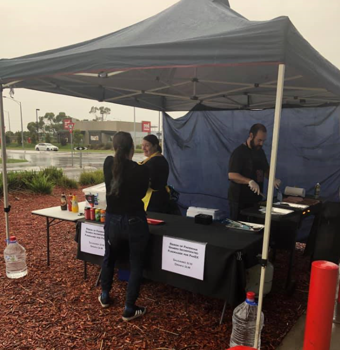 PAKEX Fundraiser - Officeworks Sausage Sizzle